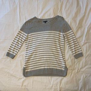 Striped Gap Crew Neck Sweater